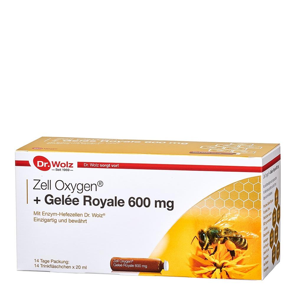 dr wolz zell oxygen gel e royale 600mg st rkung regeneration anti aging. Black Bedroom Furniture Sets. Home Design Ideas