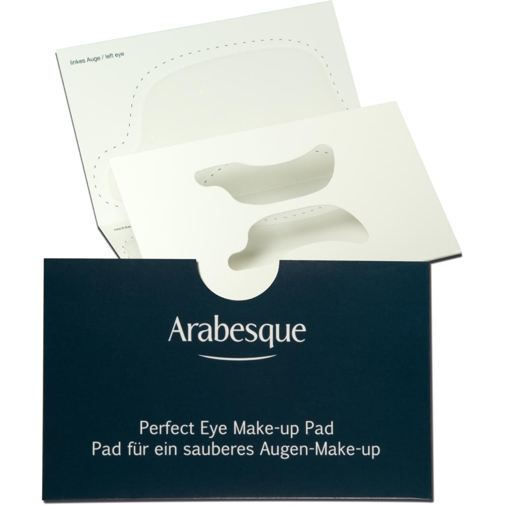 arabesque perfect eye make up pad silikonpad f r ein perfektes augen make up. Black Bedroom Furniture Sets. Home Design Ideas