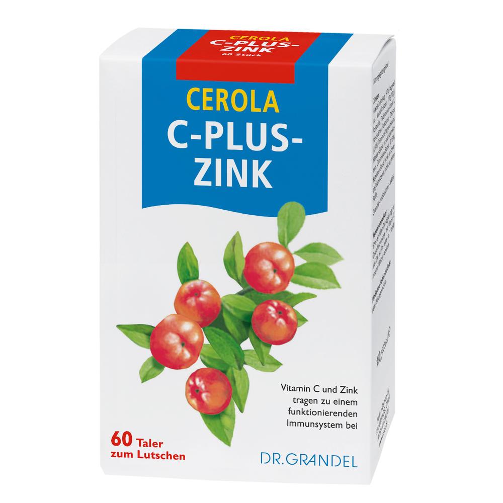 Dr. Grandel Health: Cerola C-plus-Zink Taler - Vitamin C und Zink