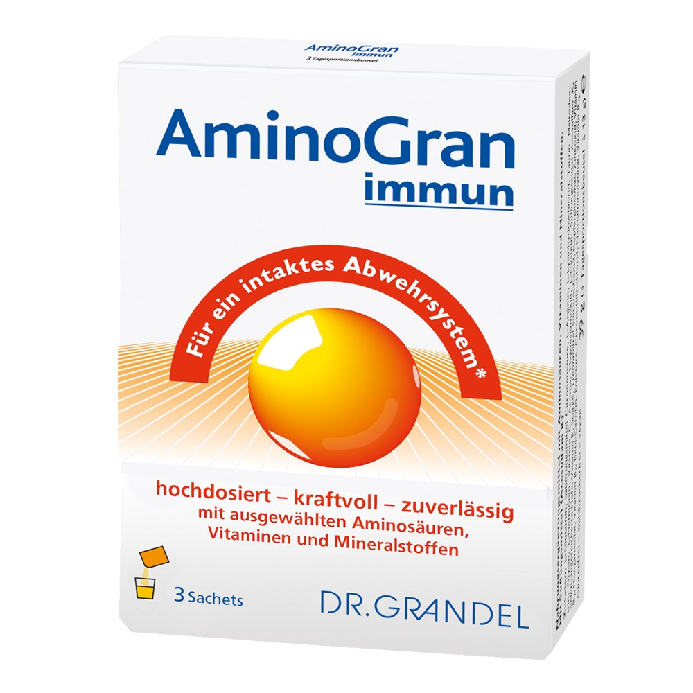 Dr. Grandel: Aminogran immun 7 Sachets - For an intact defense system*