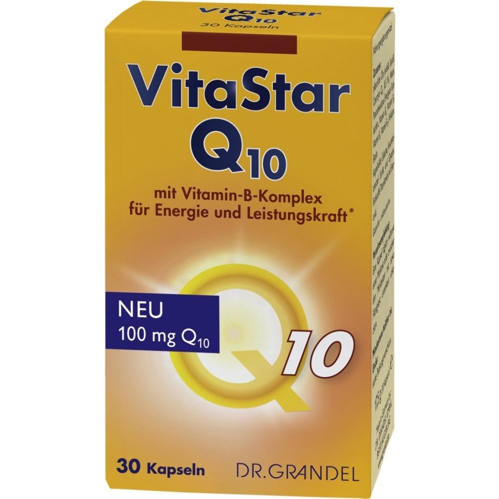 Dr. Grandel: Vitastar Q10 - Neu: 100 mg Coenzym Q10