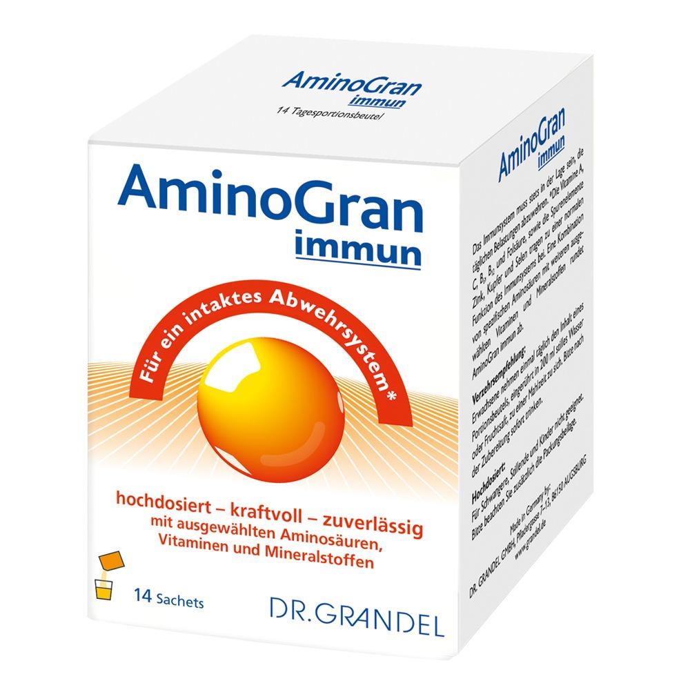 Dr. Grandel: Aminogran immun - Für ein intaktes Abwehrsystem*