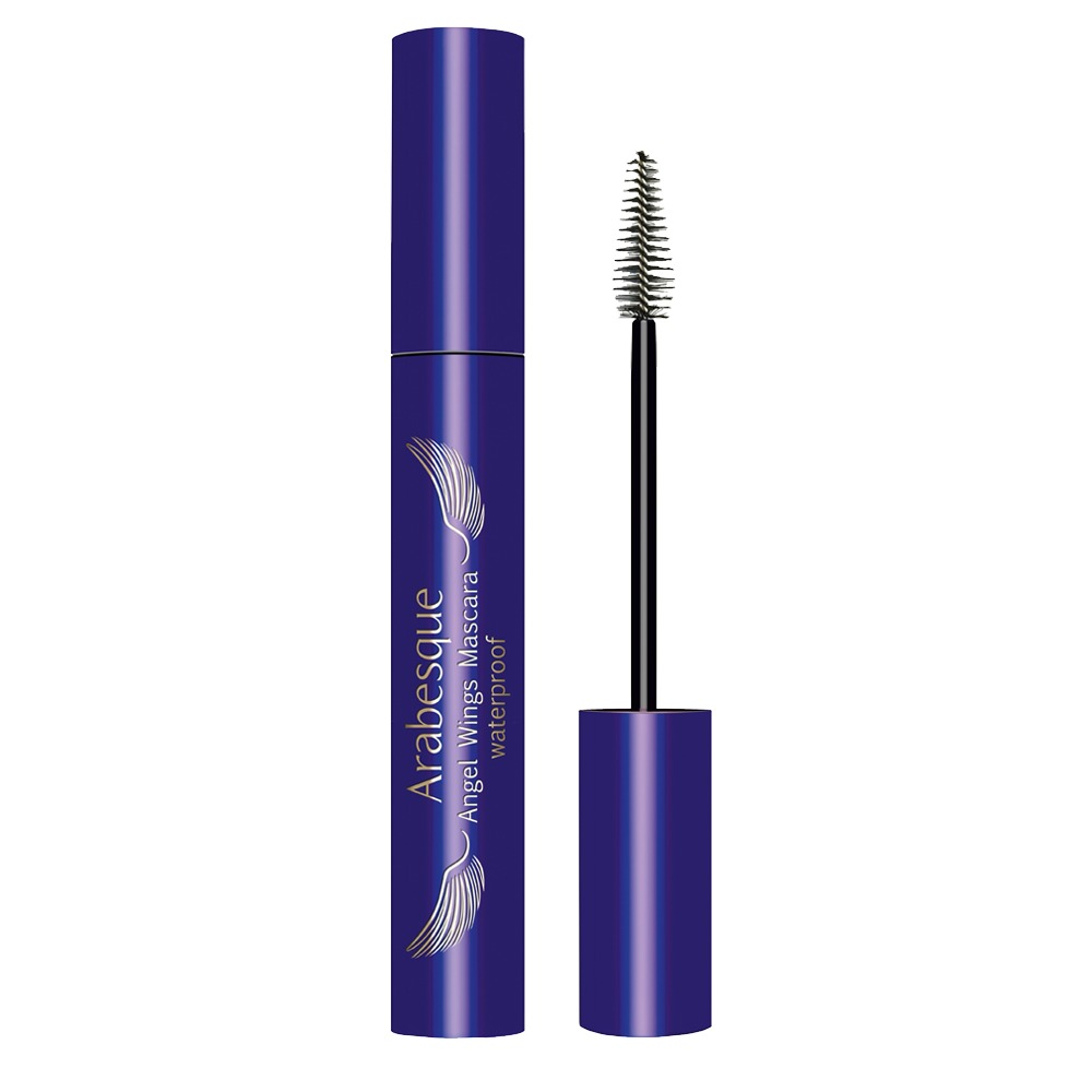 Arabesque: Angel Wings Mascara waterproof - Wasserfeste Wimperntusche für tiefschwarze Wimpern