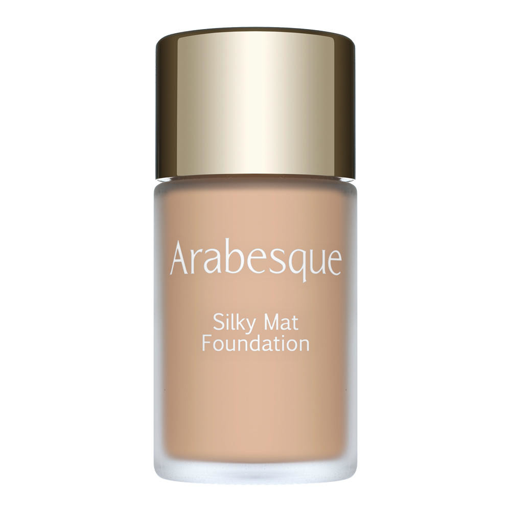 ARABESQUE: Silky Mat Foundation - Light, matting fluid foundation