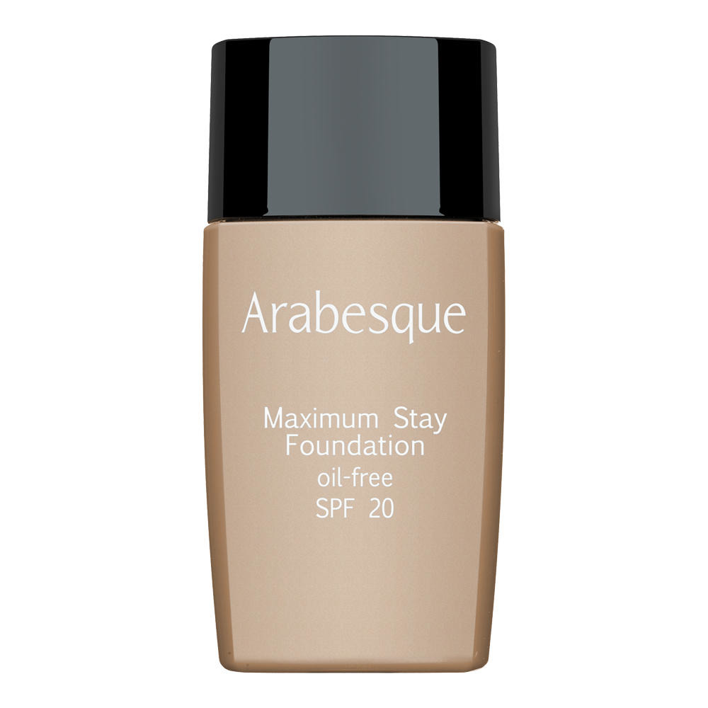 Arabesque: Maximum Stay Foundation - Langhaftendes, ölfreies Make-up mit SPF20