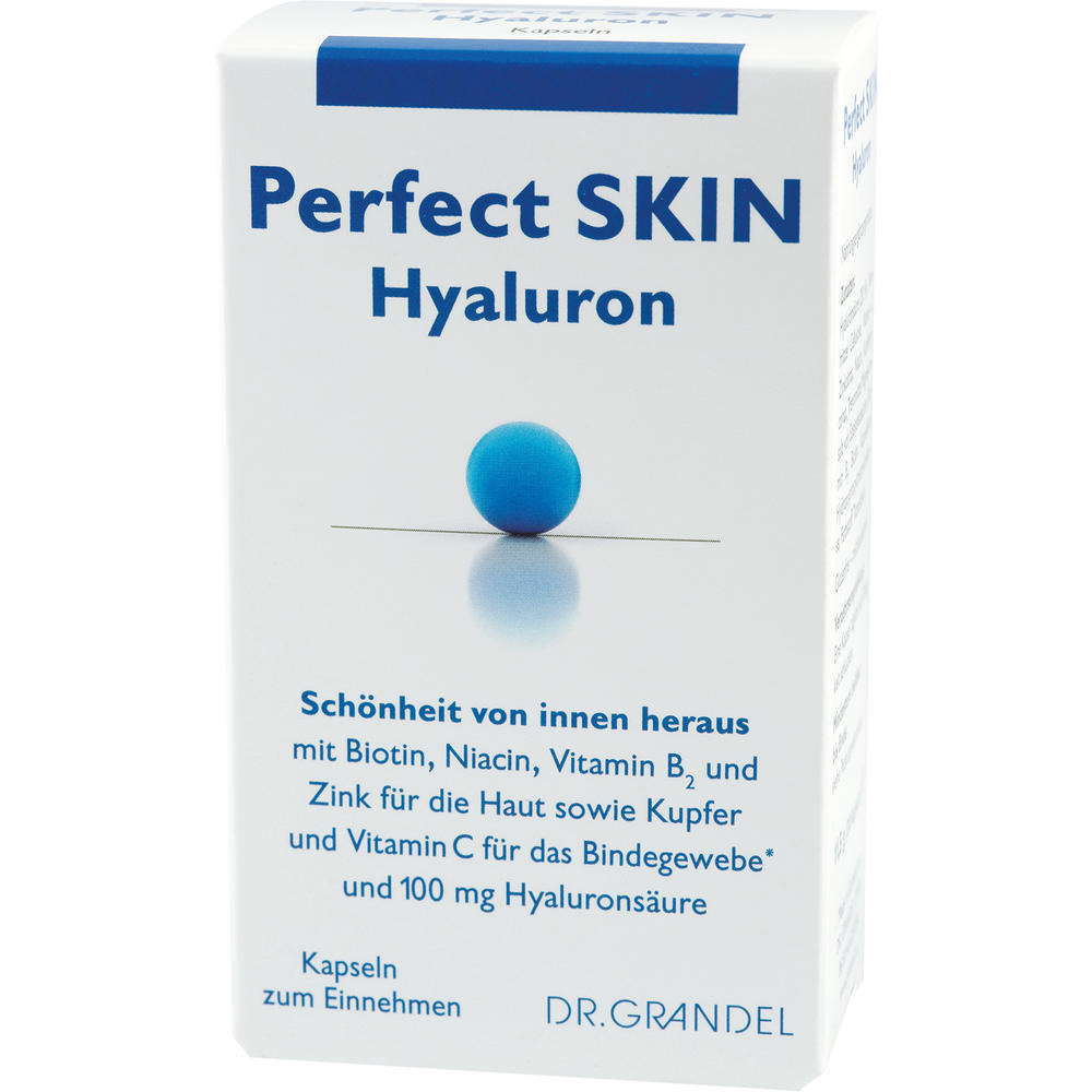 Dr. Grandel: Perfect Skin Hyaluron 60 pcs - Beauty from the inside out