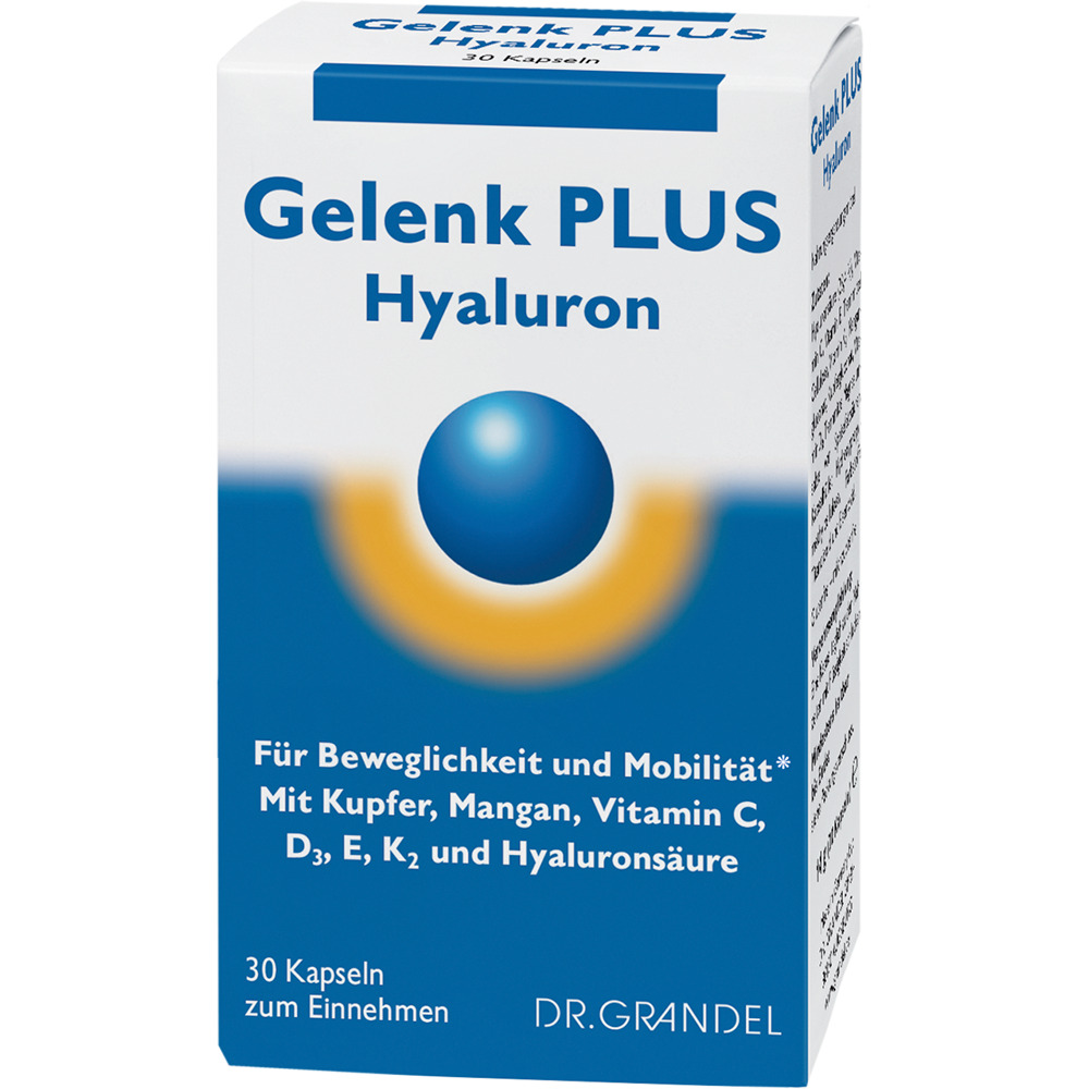DR. GRANDEL: Gelenk PLUS Hyaluron - For flexibility and mobility