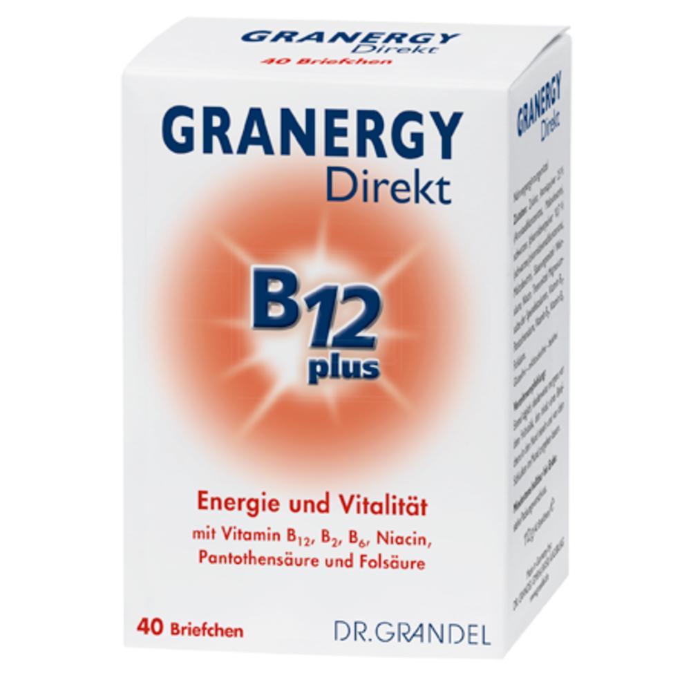 Dr. Grandel: Granergy Direkt B12 plus 20 pcs - Energy and Vitality