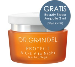 Protect DR. GRANDEL A C E Vita Night Reichhaltige Nachtpflege