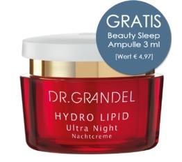 Hydro Lipid DR. GRANDEL Ultra Night 50 ml Reichhaltige Nachtpflegecreme im Tiegel