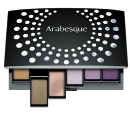 Nachfüllbare Beauty Boxen ARABESQUE Beauty Box Maxi Limitierte Magnetbox für Lidschatten und Blusher