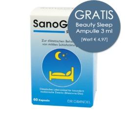 Probiotika & Aminosäuren DR. GRANDEL SanoGRAN schlaf gut
