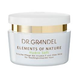 Elements Of Nature DR. GRANDEL Hydro Soft Frische Pflege für die feuchtigkeitsarme Haut