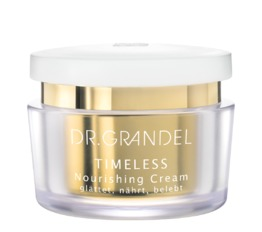 TIMELESS DR. GRANDEL Nourishing Cream Pampers very dry skin to velvety softness
