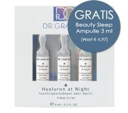 Wirkstoff-Ampullen DR. GRANDEL Hyaluron at Night Ampulle Feuchtigkeitsdepot über Nacht
