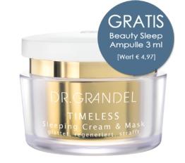 TIMELESS DR. GRANDEL Sleeping Cream & Mask Regenerierende Pflege und Maske für die Nacht