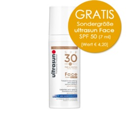 Face Ultrasun Anti-Age SPF30 Tinted Honey Getönter Anti-Ageing Sonnenschutz - sensible Haut
