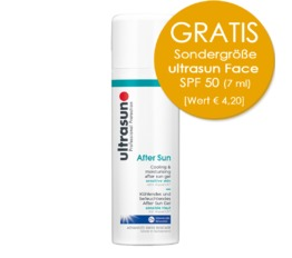 Body Ultrasun After Sun Kühlendes After Sun Fluid für sehr sensible Haut