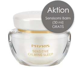 Sensitive PHYRIS Sensitive Calming Sleep Sleeping Cream für sensible Haut