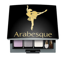Refillable Beauty Boxes ARABESQUE Beauty Box Quadrate refillable magnetic box for eyeshadows and blusher