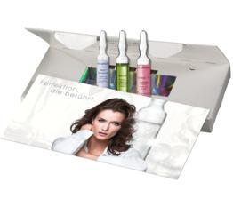 WEIHNACHTEN DR. GRANDEL Ampullen-Set Silver Beauty Drei Ampullen in der Box mit Karte