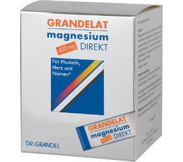 Mineralstoffe & Spurenelemente DR. GRANDEL Grandelat magnesium Direkt 400 mg Magnesium-Pulver zur Direkteinnahme