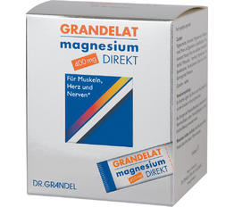 Minerals & Trace Elements DR. GRANDEL GRANDELAT Magnesium DIRECT, 400 mg Magnesium powder