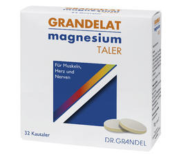 Minerals & Trace Elements DR. GRANDEL GRANDELAT Magnesium Wafers Chewable Magnesium Tablets