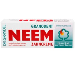 PHYTO specialities DR. GRANDEL GRANODENT NEEM Toothpaste For cleansing of the teeth