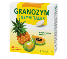 Enzymes & Co-enzymes DR. GRANDEL GRANOZYM Enzyme Wafers With Plant Enzymes