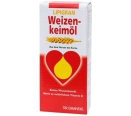 Wheat Germ & Dietary Fibre DR. GRANDEL LIPIGRAN Wheat Germ Oil From the Living Part of the Wheat Kernel