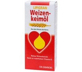 Weizenkeime und Ballaststoffe DR. GRANDEL LIPIGRAN Weizenkeimöl Aus dem Herzen des Korns.