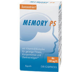 Memory & Concentration DR. GRANDEL MEMORY PS Capsules With B Complex Vitamins