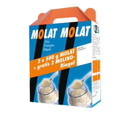 Improved stamina and strength DR. GRANDEL MOLAT double pack + 2 free molino bars The Energy Depot