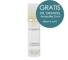 Elements Of Nature DR. GRANDEL Hyaluron 24-Stunden-Feuchtigkeitspflege mit Hyaluron