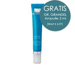 HYDRO ACTIVE DR. GRANDEL Eye Contour Cream & Mask Feuchtigkeitspflege mit Hyaluron