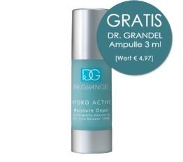 Hydro Active DR. GRANDEL Moisture Depot Feuchtigkeits-Konzentrat mit Langzeitwirkung dank Depot-Hyaluron-Säure