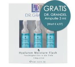 Wirkstoff-Ampullen DR. GRANDEL Hyaluron Moisture Flash Ampulle Feuchtigkeit bis in die Tiefe