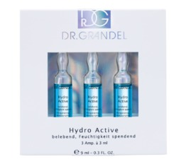 ACTIVE CONCENTRATE AMPOULES DR. GRANDEL Hydro Active Ampoule Moisturizing, smoothing, refreshing ampoule