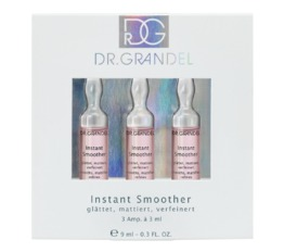 Active Concentrate Ampoules DR. GRANDEL Instant Smoother for a smooth, even, matted-looking skin