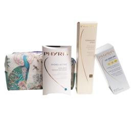 AKTIONEN PHYRIS Beautytasche SUN Drei sommerliche Pflegeprodukte in einer Beautybag