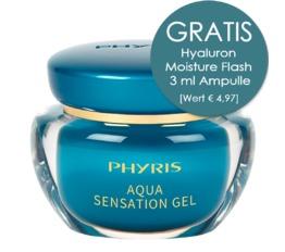 Hydro Active PHYRIS Aqua Sensation Gel Spendet intensiv Feuchtigkeit