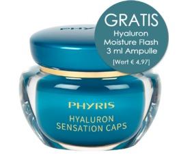 Hydro Active PHYRIS Hyaluron Sensation Caps Feuchtigkeitskapseln mit Falten-Füller-Effekt