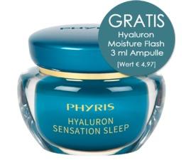 HYDRO ACTIVE PHYRIS Hyaluron Sensation Sleep Sleeping Cream mit Hyaluron