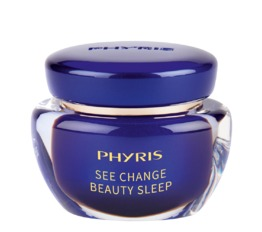 See Change PHYRIS Beauty Sleep Cream Rejuvenated and smoothes the skin structure