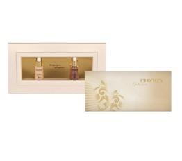 Weihnachten PHYRIS Geschenkset Time Release in Gold Zwei Mini-Seren in der Box mit Blanko-Gutschein