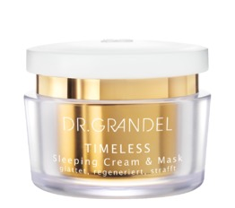 TIMELESS DR. GRANDEL Sleeping Cream & Mask Regenerating night care and mask
