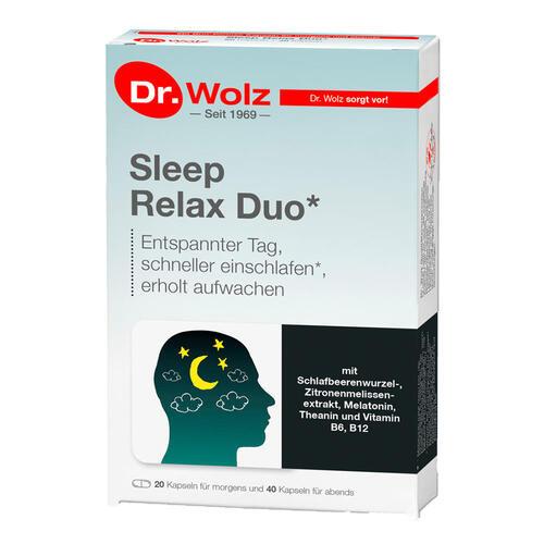 Psyche & Schlaf Dr. Wolz Sleep Relax Duo Schneller einschlafen & erholt aufwachen