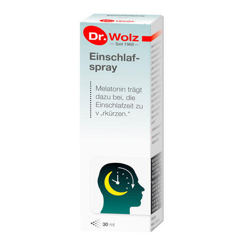 Psyche & Schlaf Dr. Wolz Einschlafspray Spray für schnelleres Einschlafen