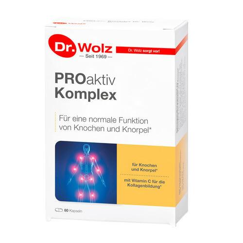 Muskeln, Gelenke & Knochen Dr. Wolz PROaktiv Komplex Knorpelnährstoffe für starke Gelenke